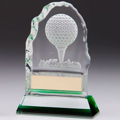 Challenger Golf Crystal Award 130mm